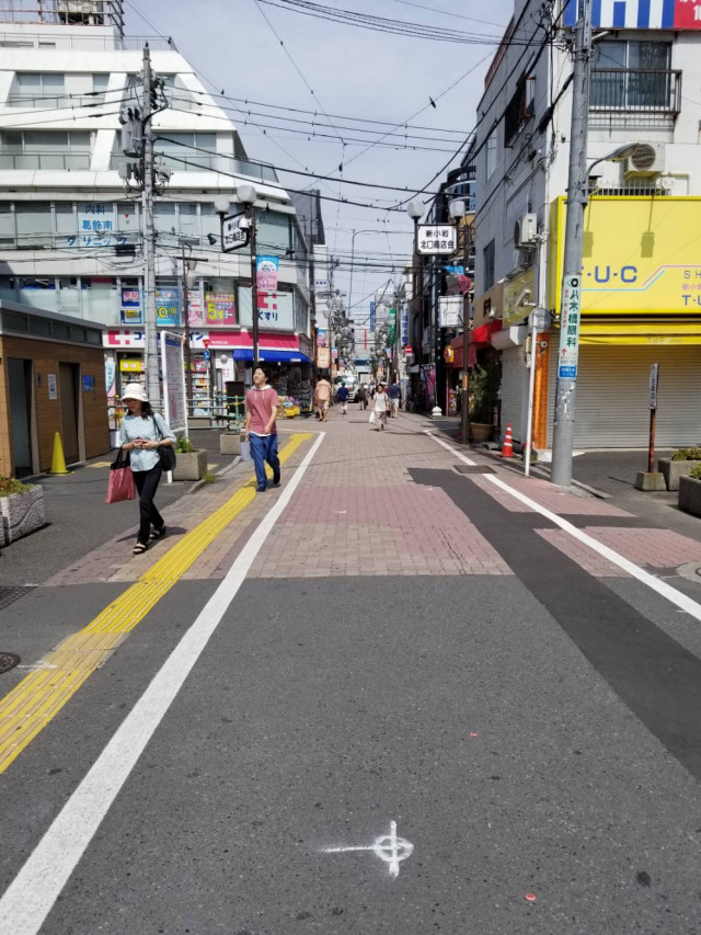 新小岩北口商店街の画像