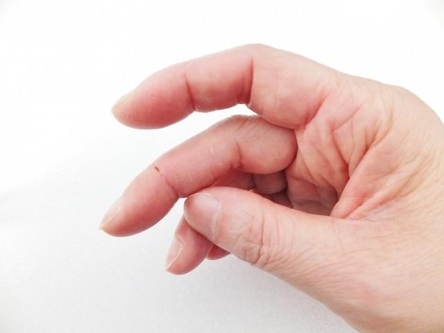 手指の写真